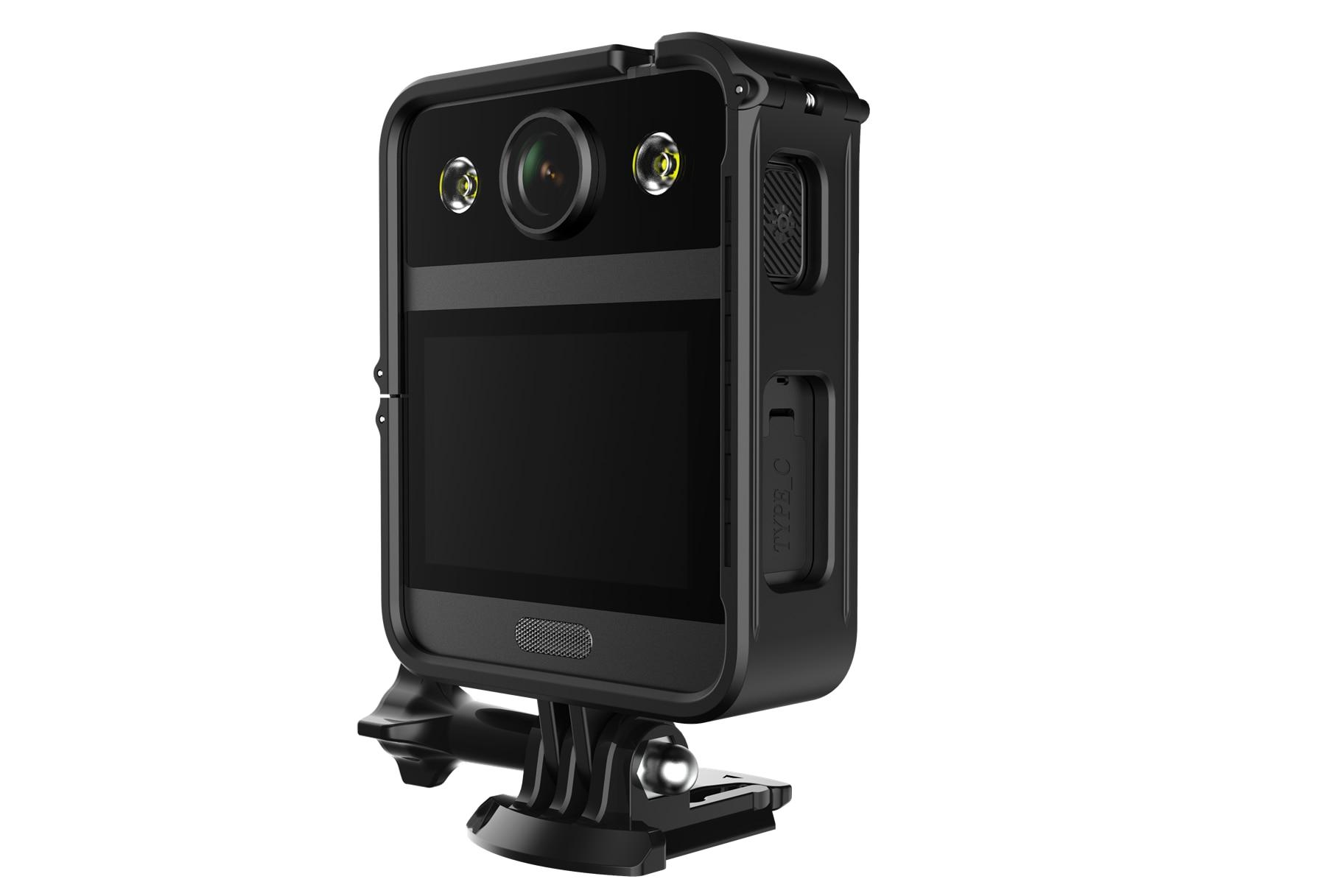 Cámara corporal portátil SJCAM A20, minicámara DV con pantalla táctil y visión...