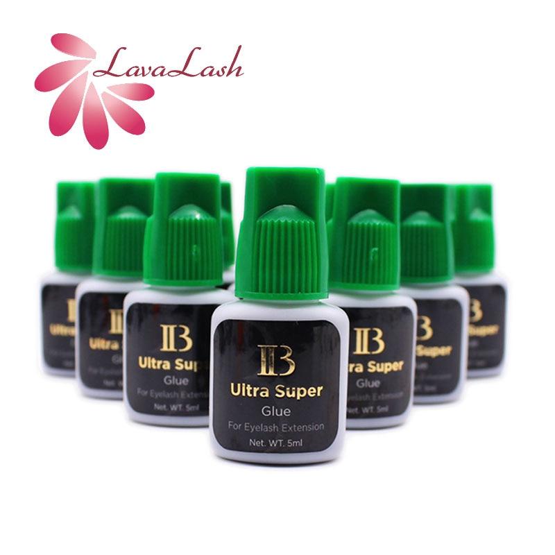 10 бутылок I-Beauty IB ультра супер клей 5 мл индивидуальная быстрая сушка наращивание ресниц зеленый колпачок клей для ресниц оптом инструменты ...
