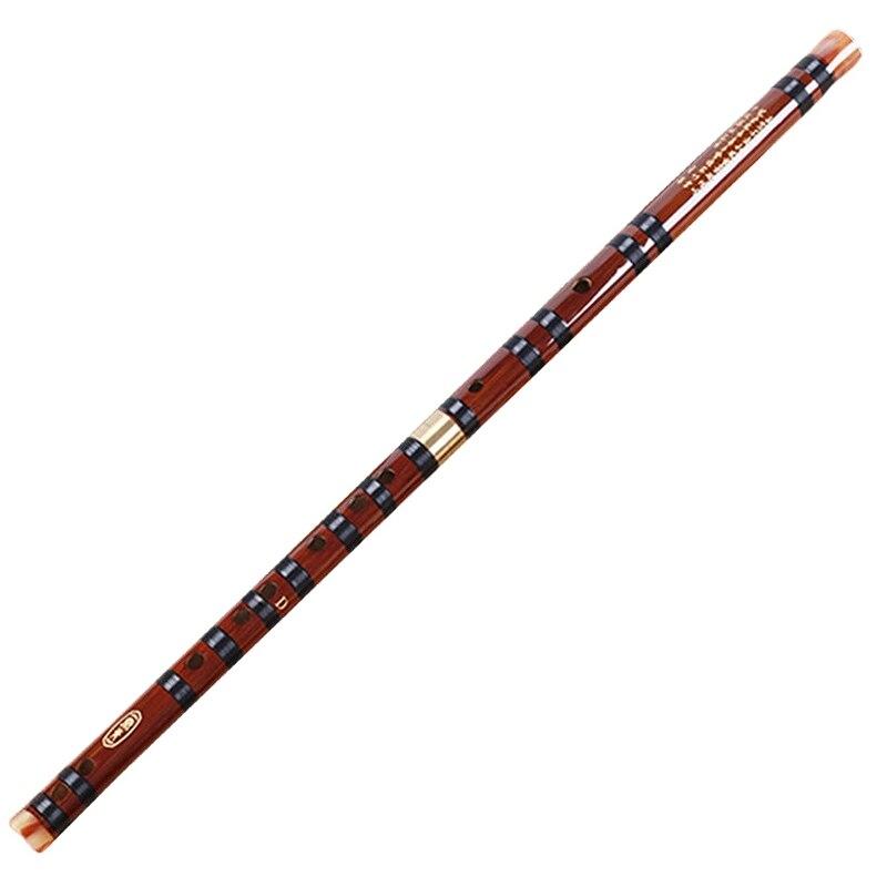 Instrumentos musicales de flauta de bambú caliente