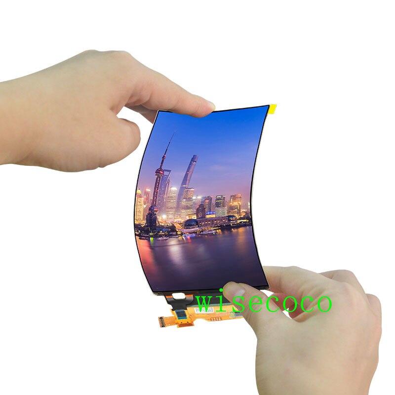 Slim 5.5 Inch Flexible OLED Display 1440X2560 Amoled Screen Bendable Panel 2k display