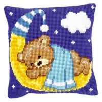 latch hook kits pillow diy handmade printed canvas cushion latch hook kits diy unfinished accessories animal bear
