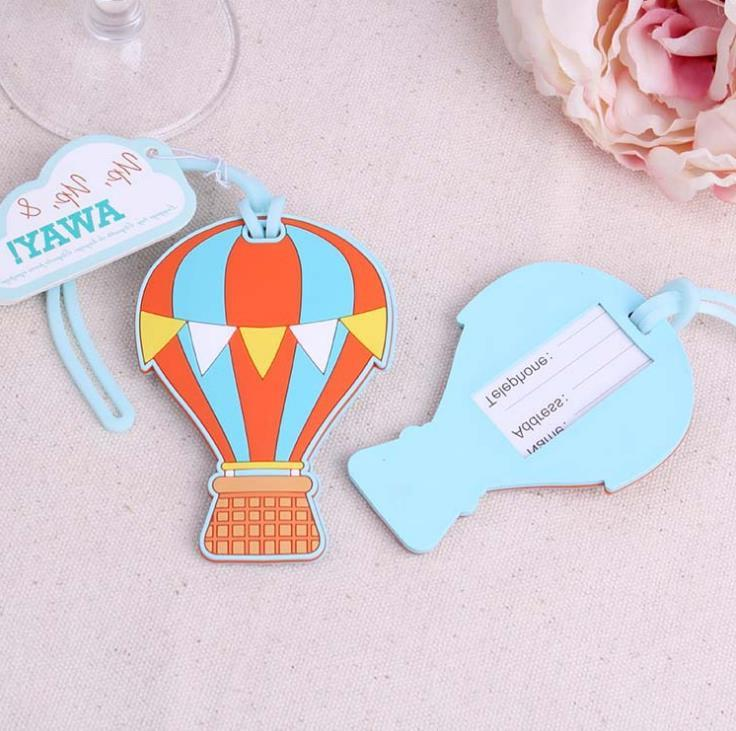 200pcs-up-up-away-hot-air-balloon-luggage-tag-rubber-luggage-tags-name-labels-travel-accessories-wedding-part-wholesale