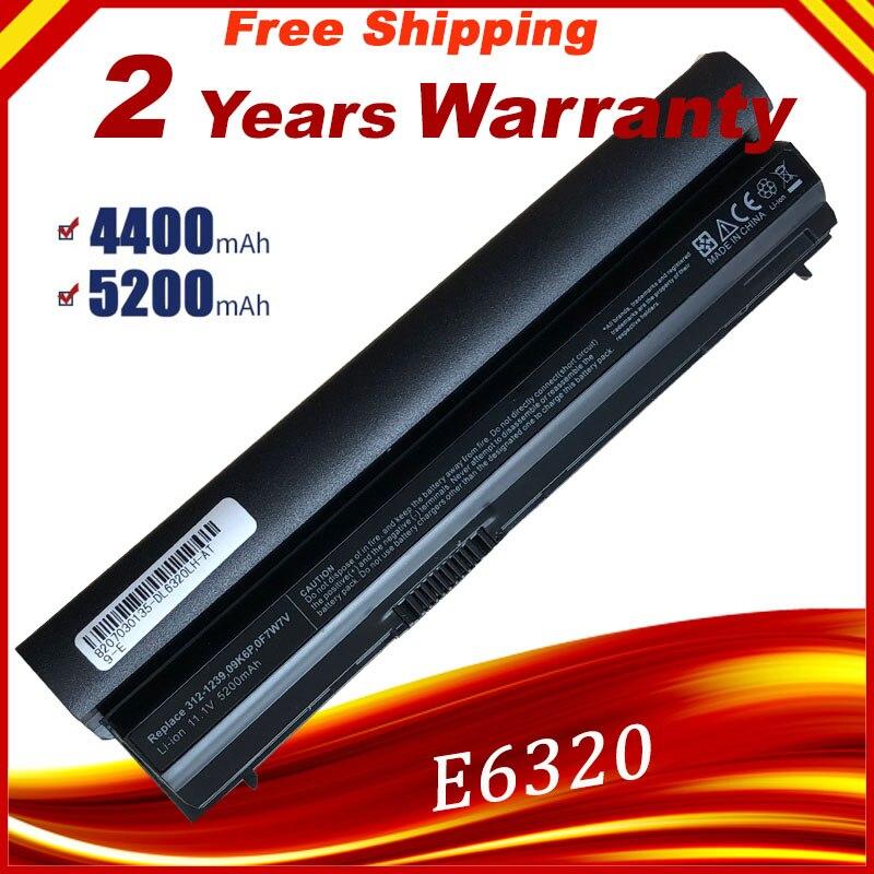 Bateria do portátil Para Dell Latitude E6120 E6220 E6230 E6320 E6330 E6320 XFR Série E6430s 09K6P 0F7W7V 11HYV 3W2YX 5X317 7FF1K Rápido