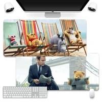 disney christopher robin gaming desk laptop rubber mouse pad company xl large keyboard pc desk mat takuo anti slip comfort pad