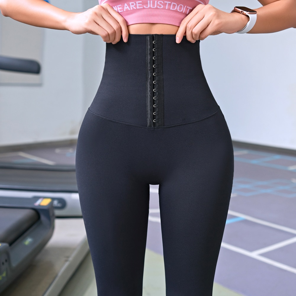 2021 Yoga Pants Stretchy Sports Best Black Leggings High Waist Compression Tights  Push Up Running Women Gym Fitness Leggings
