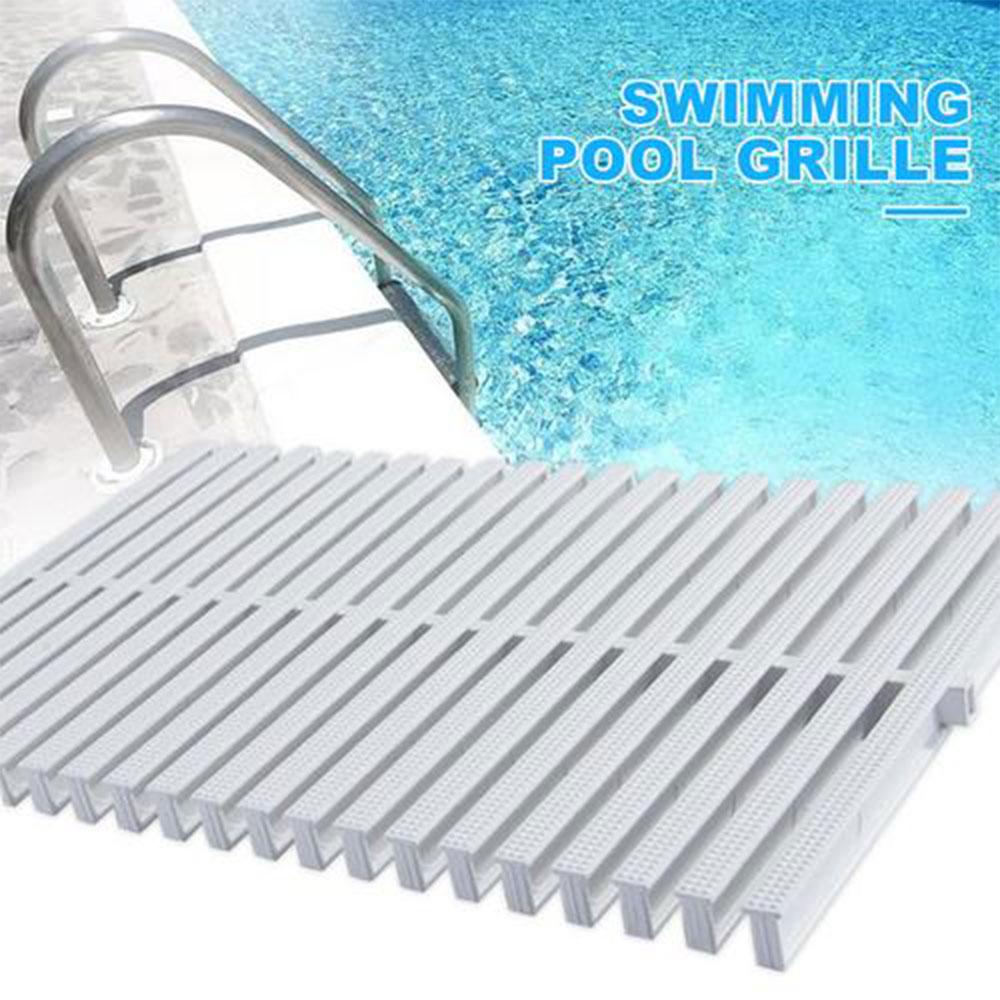 Противоскользящая решетка для бассейна, водосточная решетка для бассейна, оборудование для бассейна, аксессуары, длина 100 см