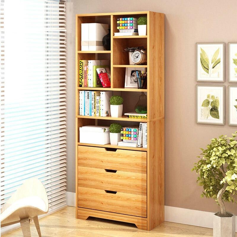 Креативный книжный шкаф, простой современный книжный шкаф для студентов, для спальни, простой книжный шкаф, экономичный шкаф для гостиной, с... эксклюзивный книжный шкаф kidkraft primary 14226 ke