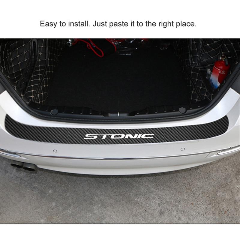 Car Bumper Car Guard Scratch Protection Strip for KIA Stonic Fashion 1PC Car Stickers