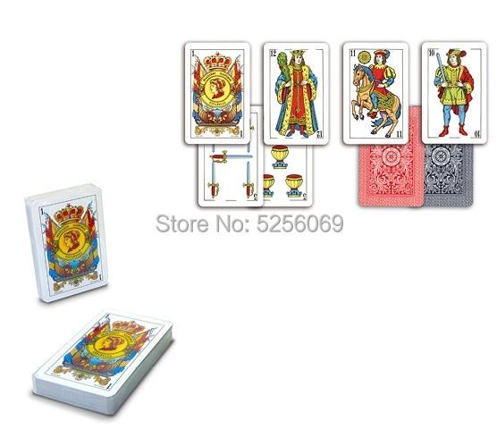 MAESTROSNAIPEROS® Baraja española  Naipe español 50 cartas