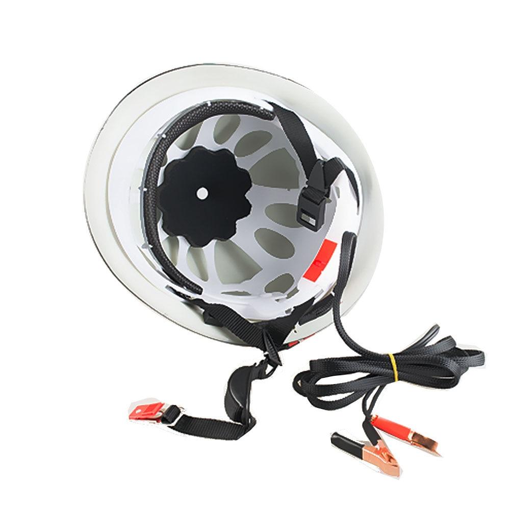Ju jing Yang 65W HID strong headlamp xenon lamp remote night fishing helmet lamp safety helmet white light detection enlarge