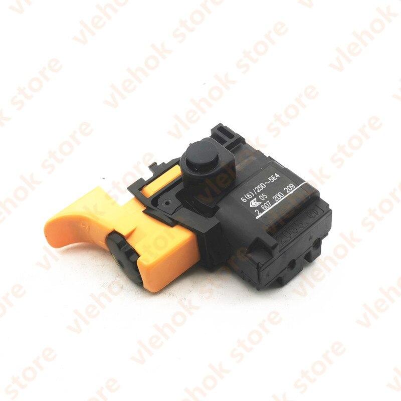 Переключатель для BOSCH GSB16RE GSB18 2RE GSB18 GSB18 2RE GSB2 600RE GSB2 650RE GBM10 2RE GBM13 2RE GSB680PROFI GSB20 2RE 2607200209 Аксессуары для электроинструментов      АлиЭкспресс