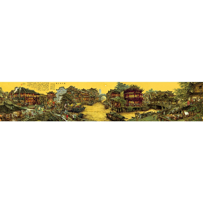 Пазл для взрослых, китайская культура, супербольшая головоломка-Знаменитые Картины Jiangnan Old Dream, картины для украшения дома