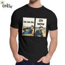 T-shirt col rond homme   Doux, à la mode, Tintin Captain Haddock, à la mode