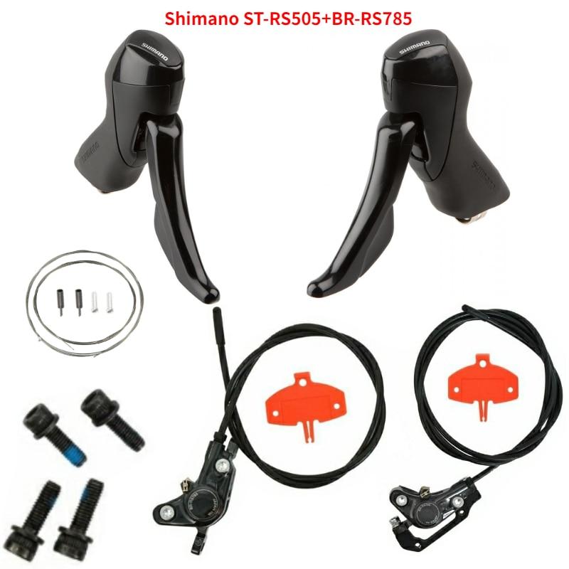 Shimano ST-RS505 + BR-RS785 2x11-speed camino disco Shift + Freno de grupo
