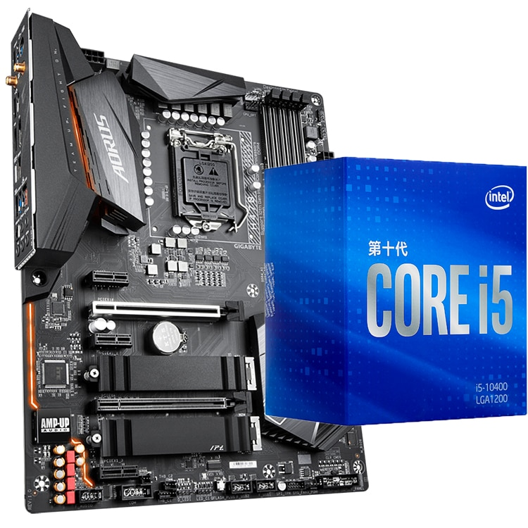 [해외] (인텔) I7 10700 I5 10400F 프로세서, MSI B460M 마더 보드 B460 모르타르 I7 9700KF CPU 포함