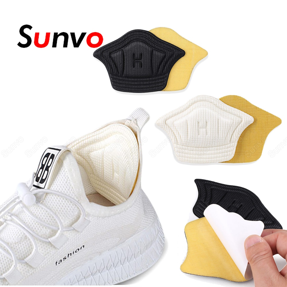 Sunvo Women Heels Inserts Reduce Size Stickers for Shoes Filler Heel Liner Protector Pain Relief Sel