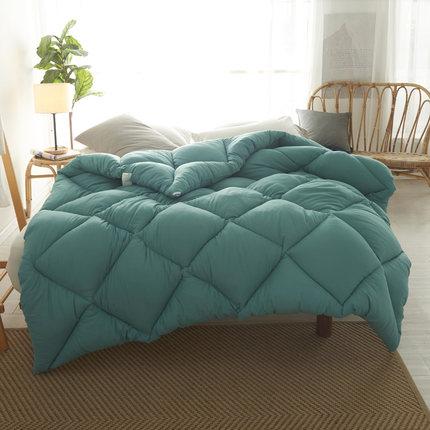 لحاف شتوي دافئ للغاية ، لحاف بلون سادة ، حجم كينج ، كوين ، سرير مزدوج ، من 1.5 إلى 3 كجم