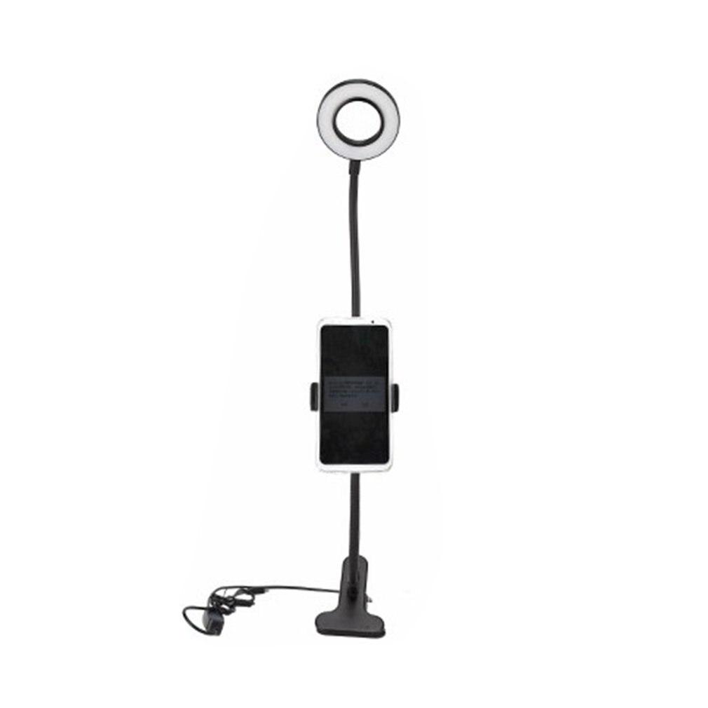 Lampada per supplemento di luce dal vivo per telefono cellulare a Led lampada da scrivania con Clip USB lampada da studente per la protezione degli occhi a luce morbida di bellezza