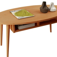 Japanese Style Modern Foldable Table Wood/Coffee Color Simple Living Room Desk