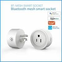 Prise intelligente prise de base WiFi sans fil APP telecommande prise adaptateur puissance pour Alexa Echo Google Assistant Kit maison IFTTT