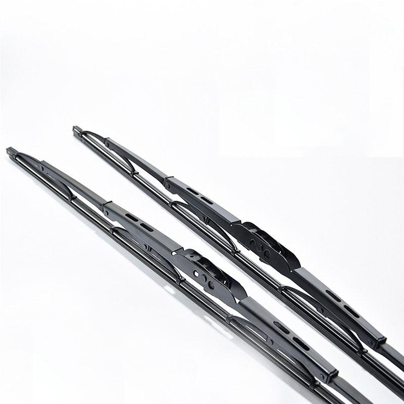 Universal U-type Windshield Wiper Soft Bone iron frame Rubber Car Windshield Wiper Blade 1 pcs Car accessories