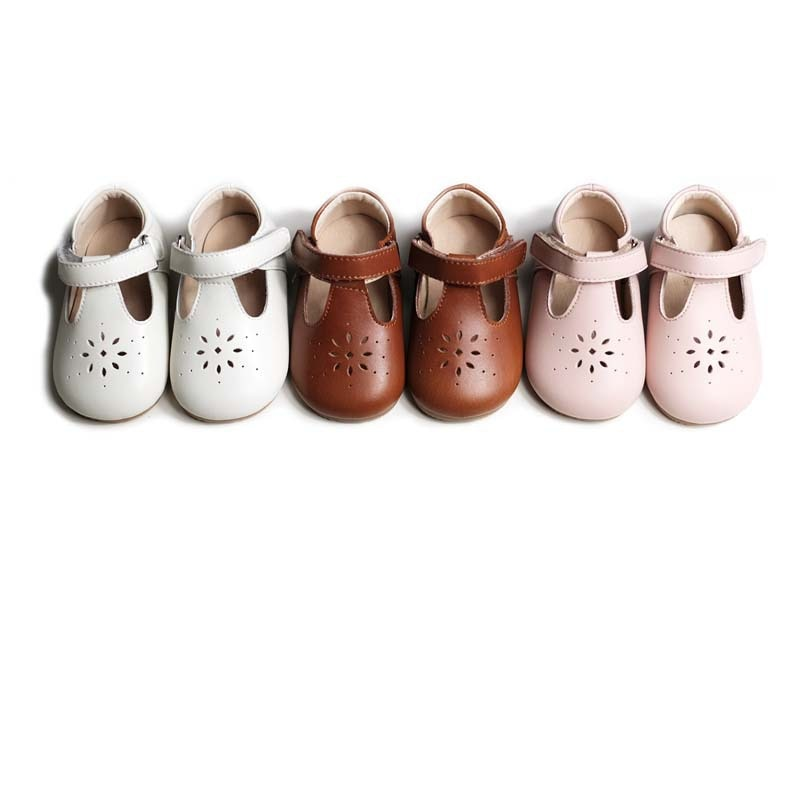 حقيقي جلدي حذاء طفل الربيع و الخريف الفتيات الأحذية المغلقة حقيقية الجلود الأولى مشوا الرضع طفل الأخفاف