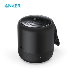 Anker Soundcore Mini 3 Bluetooth-динамик, технология BassUp и PartyCast, USB-C, Водонепроницаемый IPX7, и настраиваемый EQ