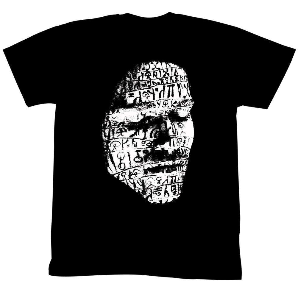 Conan el Bárbaro de los años 80 fantasía película de acción Tribal se cara camiseta adulto