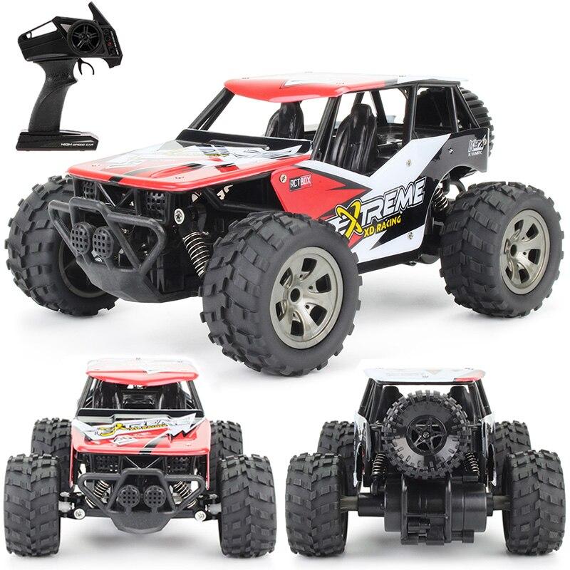 Coche Rc 2,4G Radio Control Buggy escalada fuera de camiones de carretera 1: 18 coches de alta velocidad de Control remoto juguetes para niños regalos