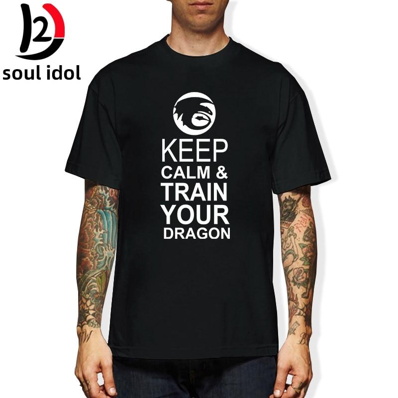 Camiseta D2 KEEP CALM AND TRAIN YOUR DRAGON camiseta juegos del hambre SKYRIM ZELDA Camiseta Unisex más tamaño y colores