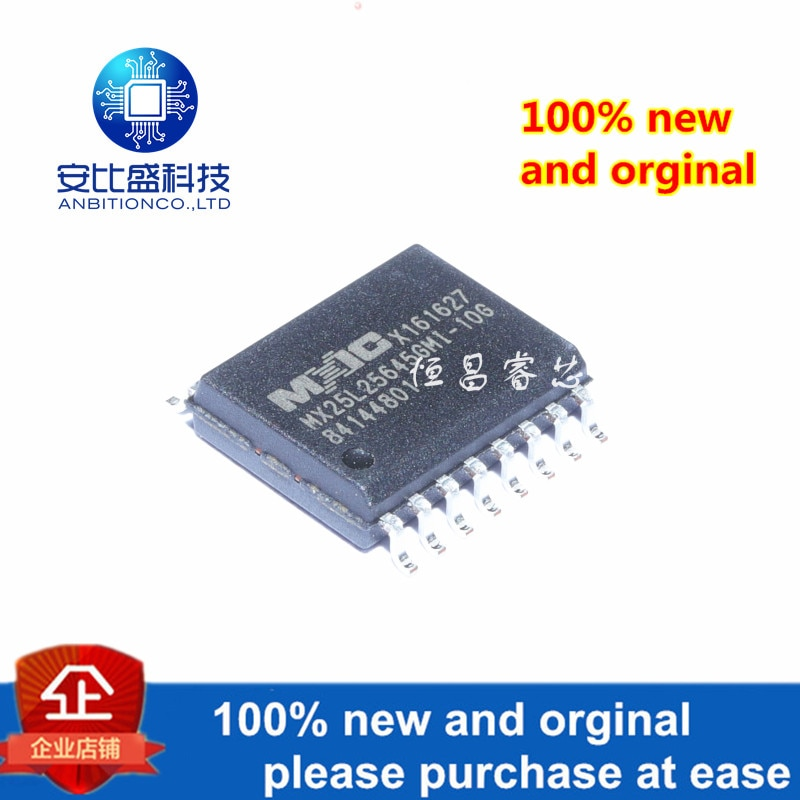 1 قطعة 100% جديد و الأصلي MX25L25645GMI-10G الحرير الشاشة 25L25645GMI-10G 256Mbit في المخزون
