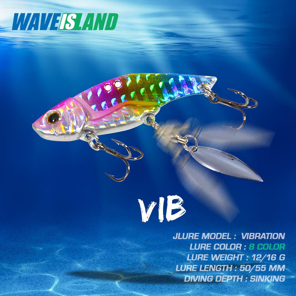 AliExpress - WAVEISLAND 2021 Metal Vib Fishing Lure 12g 16g Long Shot Metal Jig Articulos De Pesca Isca Artificial Bass Bait Deep Sea Fishing