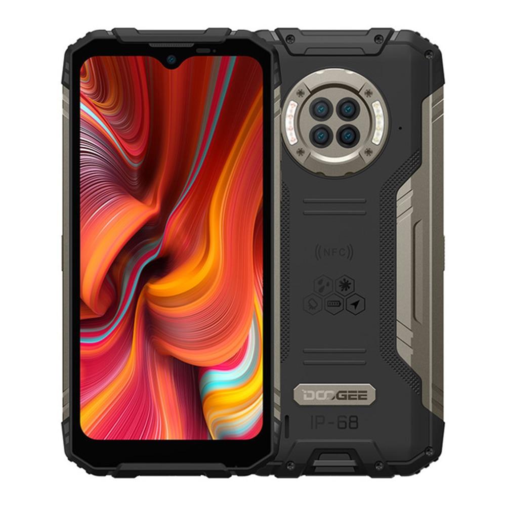 Перейти на Алиэкспресс и купить DOOGEE S96 Pro прочный телефон 6350 мАч 20 МП инфракрасное ночное видение Helio G90 Восьмиядерный 8 + 128 ГБ 6350 мАч 48 МП круглый четырехъядерный телефон