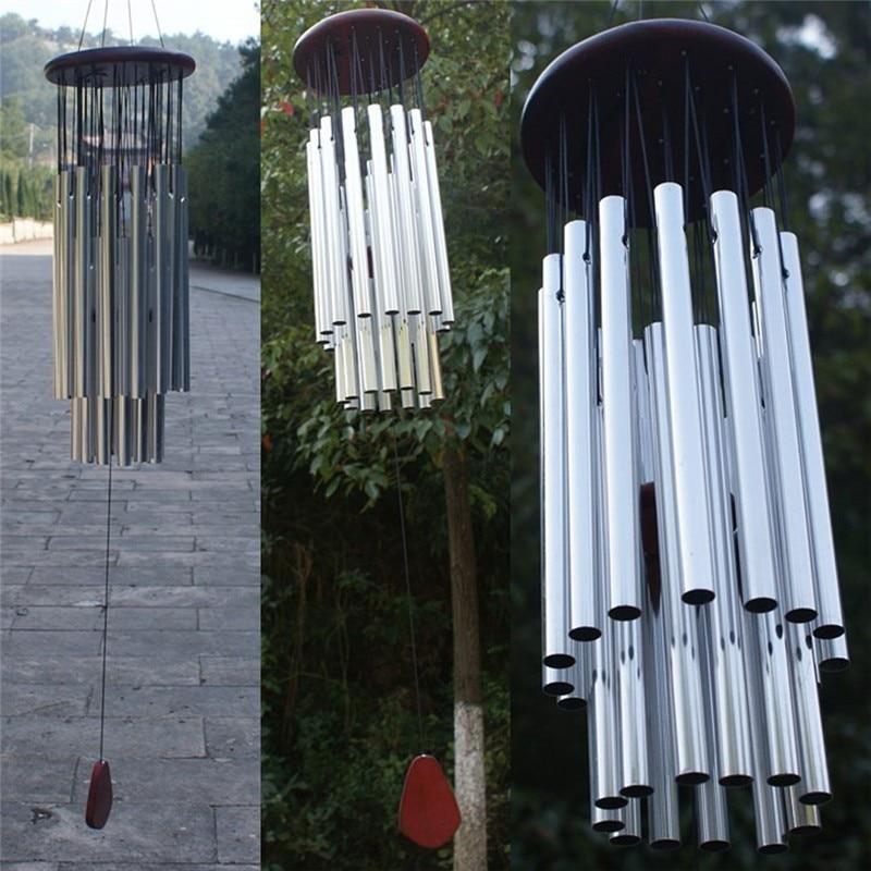 27 трубок Windchime Часовня колокольчики ветер колокольчики двери висит домашний декор