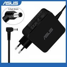 Dla Asus laptopa Adapter 19V 3.42A 65W 5.5*2.5mm ADP-65AW CC A AC ładowarka sieciowa dla ASUS X45A X501A X550 X 550ZA X550LA F555