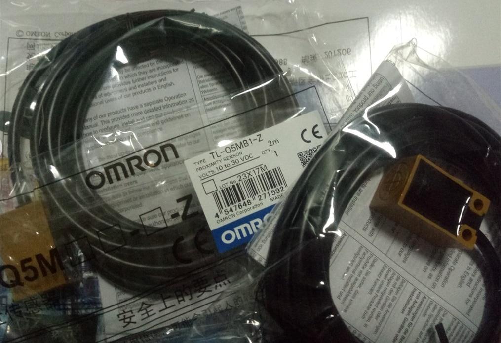 5PCS TL-Q5MB1-Z PNP KEINE 10-30VDC Sn-5mm Omron Proximity Schalter Sensor