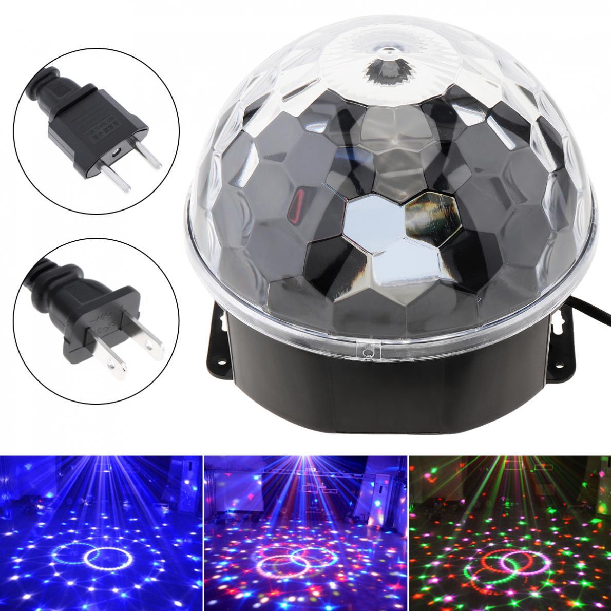 dmx512 discoteca dj iluminacao de palco led digital rgb bola de cristal efeito luz