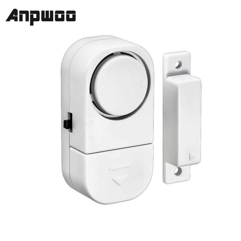 Systeme dalarme de securite domestique  capteurs magnetiques autonomes  sans fil independant  entree de porte et fenetre de la maison  alarme de securite anti-cambriolage