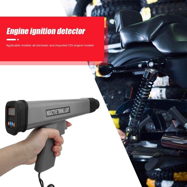 12 В профессиональный практичный Индуктивный таймерный свет Многофункциональный прочный автомобильный двигатель зажигания стробоскоп