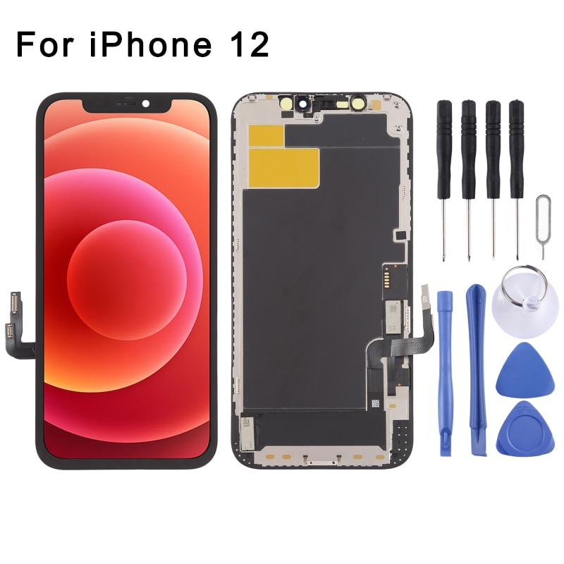 Review IN-Cell LCD Screen and Digitizer Full Assembly for iPhone 12, LCD Screen and Digitizer Full Assembly for iPhone 12 Pro