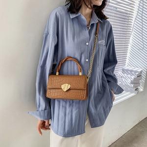 High Sense Female Bag 2021 New Texture Portable Chain Single Shoulder Messenger Small Bag Purses and Handbags Luxury Designer