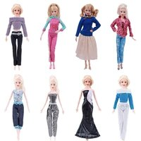 doll clothes for barbies sweaters pants suits dresses for barbies doll outfit clothes accessories girls toy gift