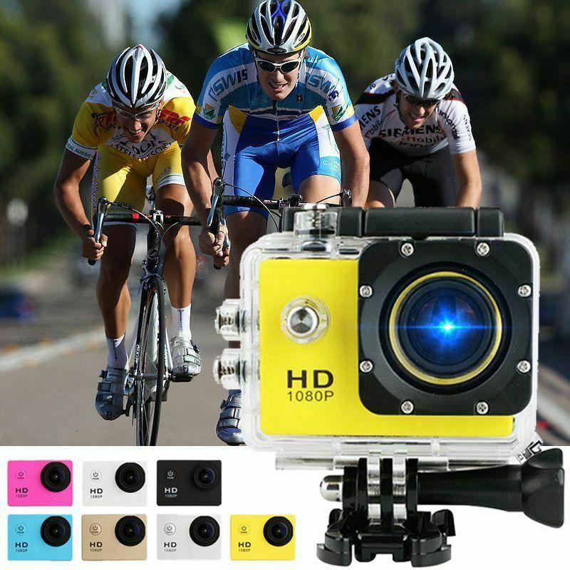2 pulgadas Ultra HD 1080P acción videocámara deportes DV Cámara DVR menos de 30M impermeable
