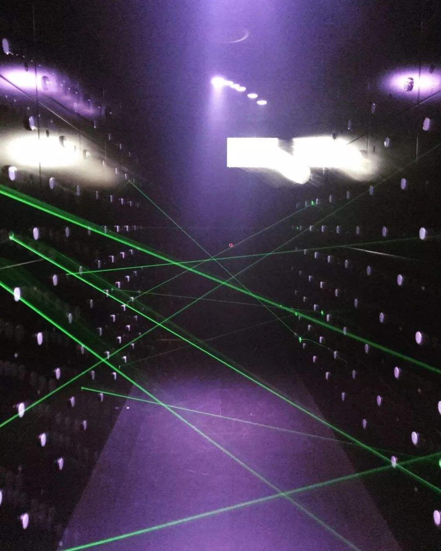 ¡Producto en oferta! accesorios mágicos de escape penetralium verde real láser arreglo cámara de escape secreto divertido láser seguro laberinto juego