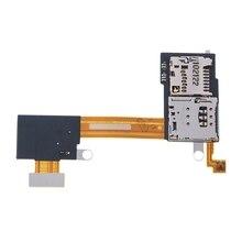 Tarjeta Sim TF ranura para tarjeta soporte Flex Cable cinta repuesto para Xperia M2 S50H D2303 D2305 D2306