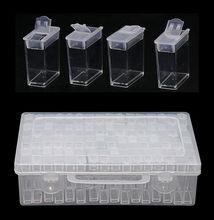 64PCS Diamond Painting Tool Bead Container Diamond Embroidery Stone Storage Box