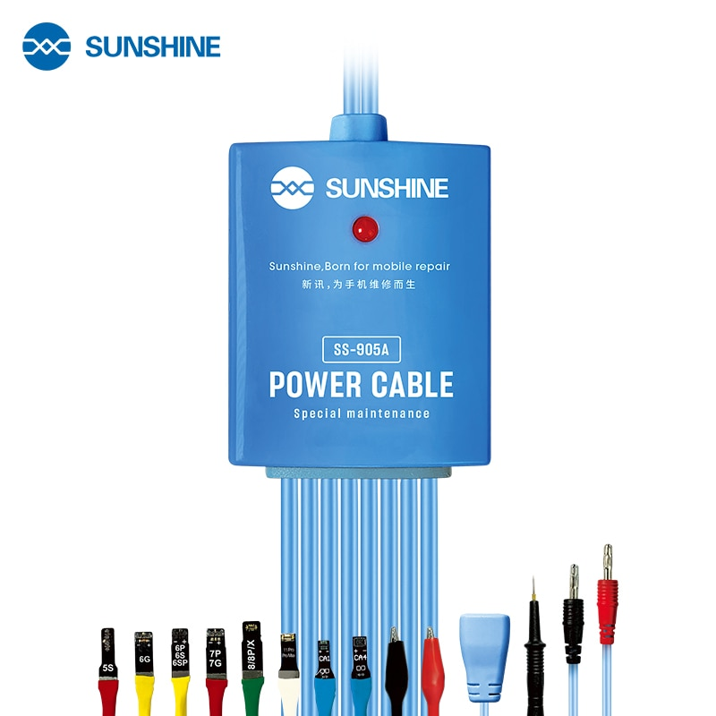 Review SS-905A for iPhone 5s-11 SAM series Power Boot Control line Cable Power Test Boot Cable Motherboard Activation Charging Wire