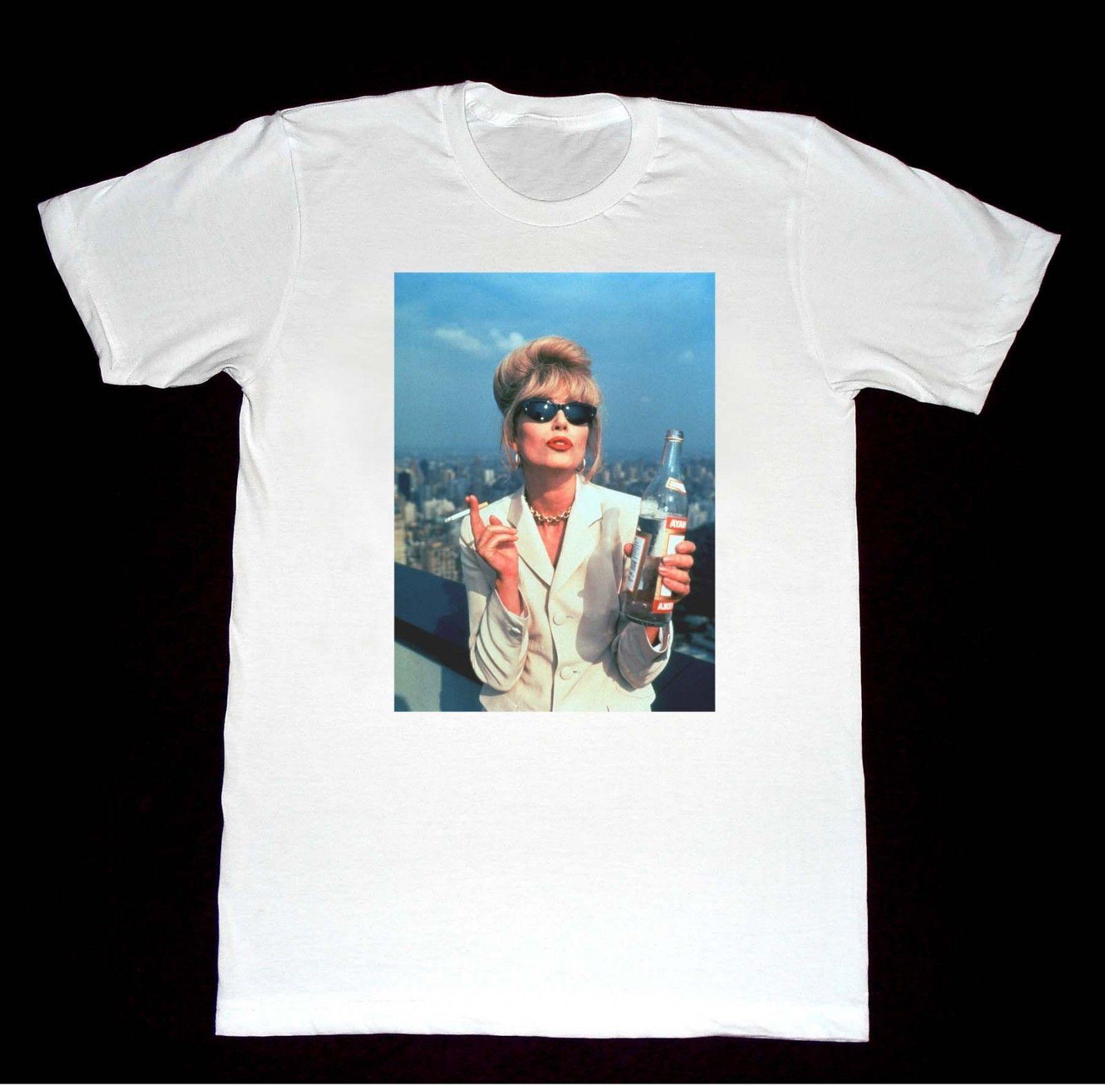 Absolutamente fabuloso t camisa 8 camisa patsy alcoólico moda lgbt vodka 3d camiseta masculina plus size algodão topos t anime