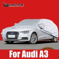 full car covers outdoor sun uv orotection dust rain snow protective for audi a3 8v oxford cloth accessories