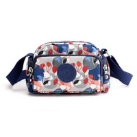 2021 new 8 colors floral womens fashion bag lightweight small bags fresh style nylon cross body bag brand trend bag ladies